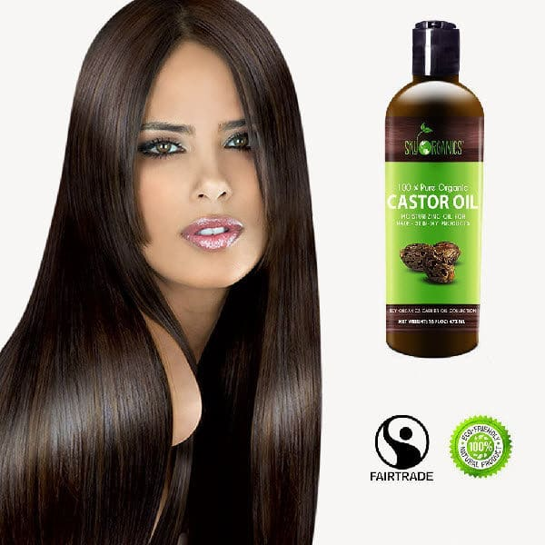 Organic Castor Oil By Sky Organics