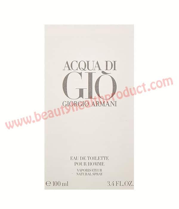 Giorgio Armani acqua di gio review