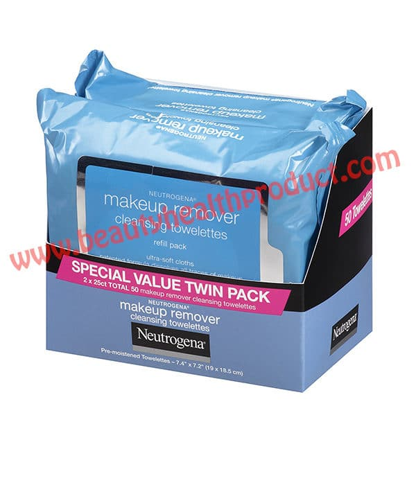 neutrogena makeup remover wipes oil free