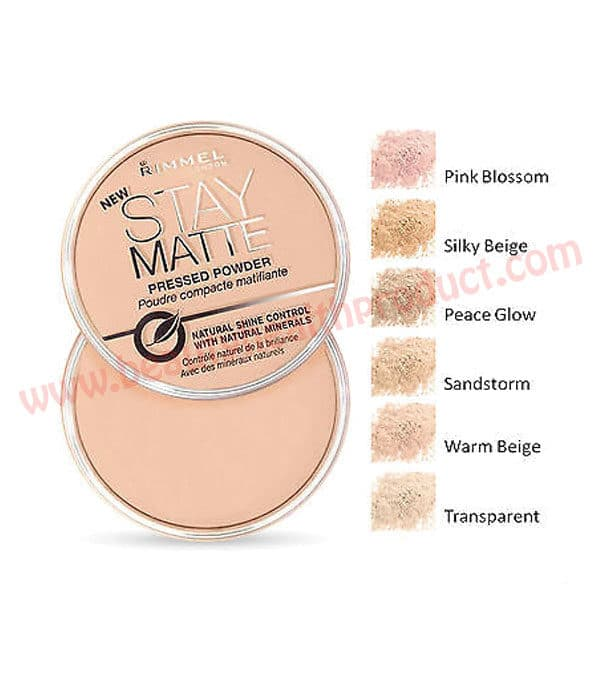 rimmel stay matte powder shades